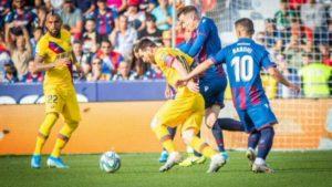 Levante Patahkan Kemenangan Beruntun Barcelona